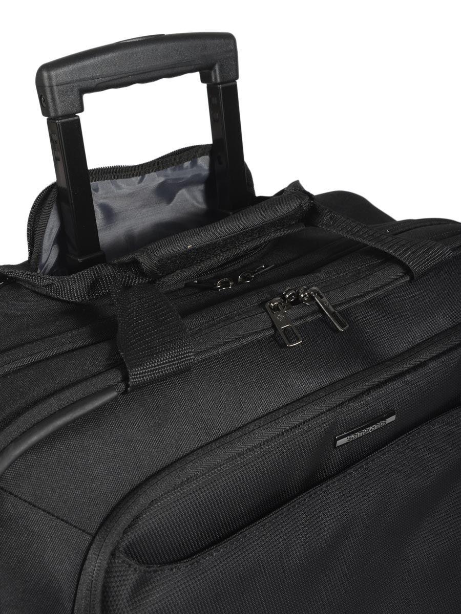 pilot case roulettes samsonite guardit black en vente au meilleur prix. Black Bedroom Furniture Sets. Home Design Ideas