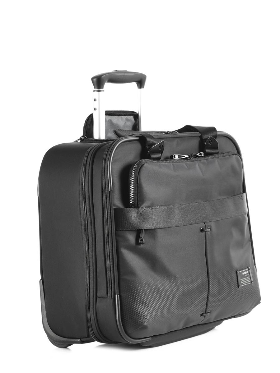 pilot case roulettes samsonite cityvibe black en vente au meilleur prix. Black Bedroom Furniture Sets. Home Design Ideas
