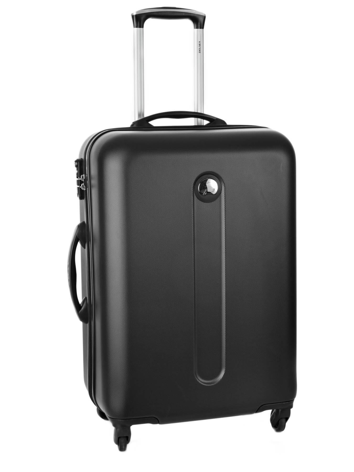 valise rigide delsey helium classic gris en vente au. Black Bedroom Furniture Sets. Home Design Ideas