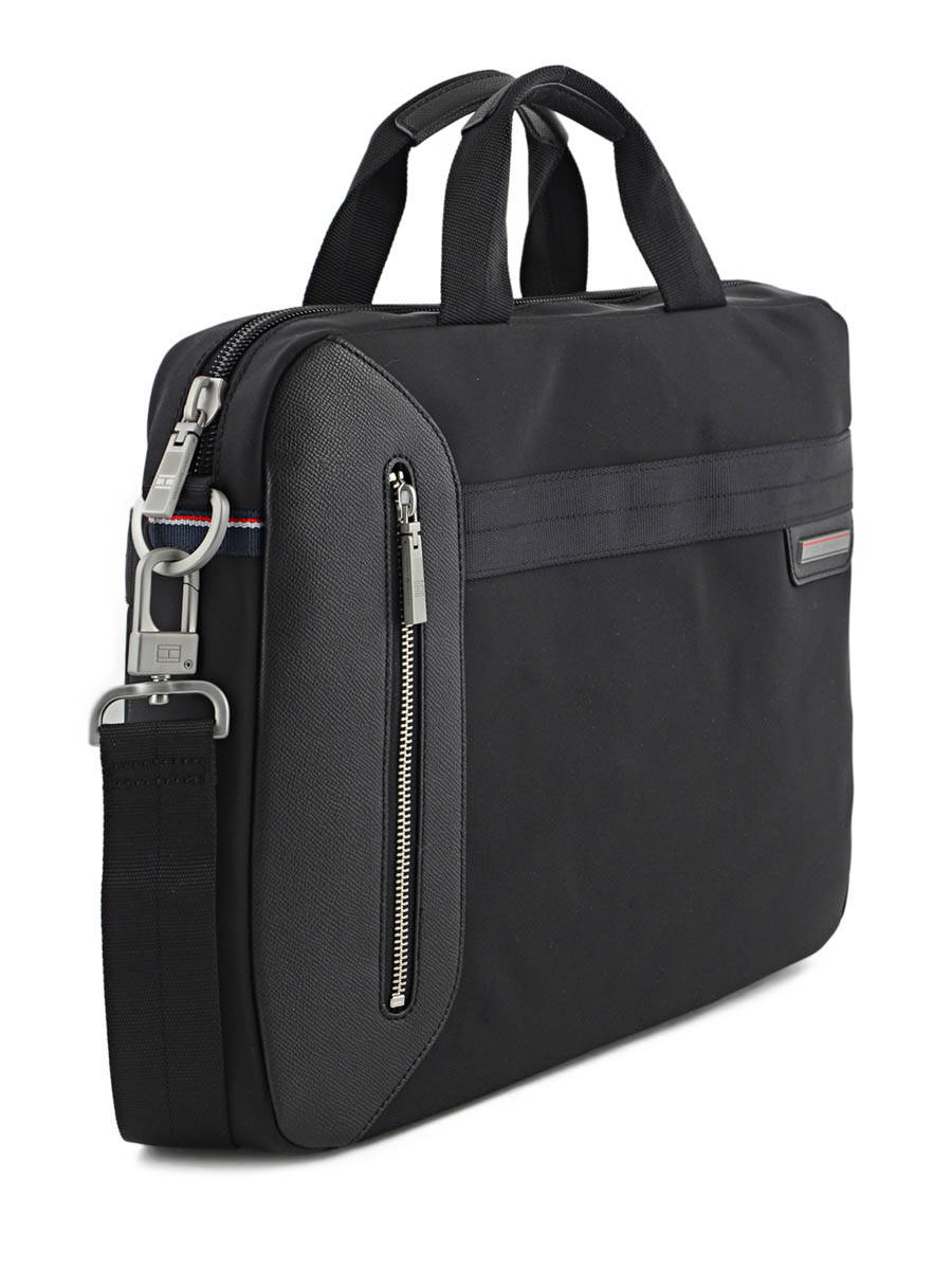 Porte ordinateur tommy hilfiger essentiel black en vente for Porte ordinateur