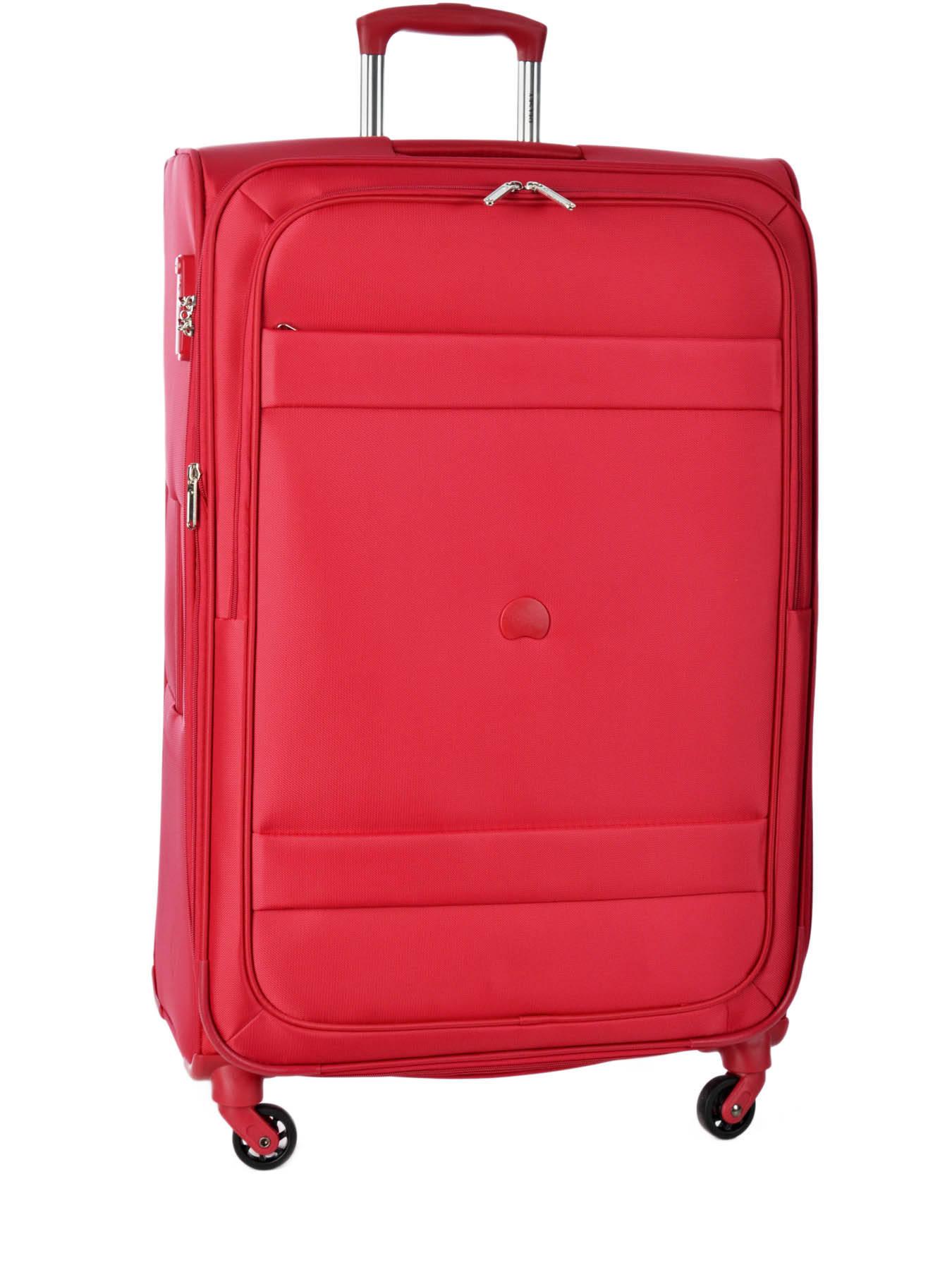 valise souple delsey indiscrete rouge en vente au meilleur prix. Black Bedroom Furniture Sets. Home Design Ideas