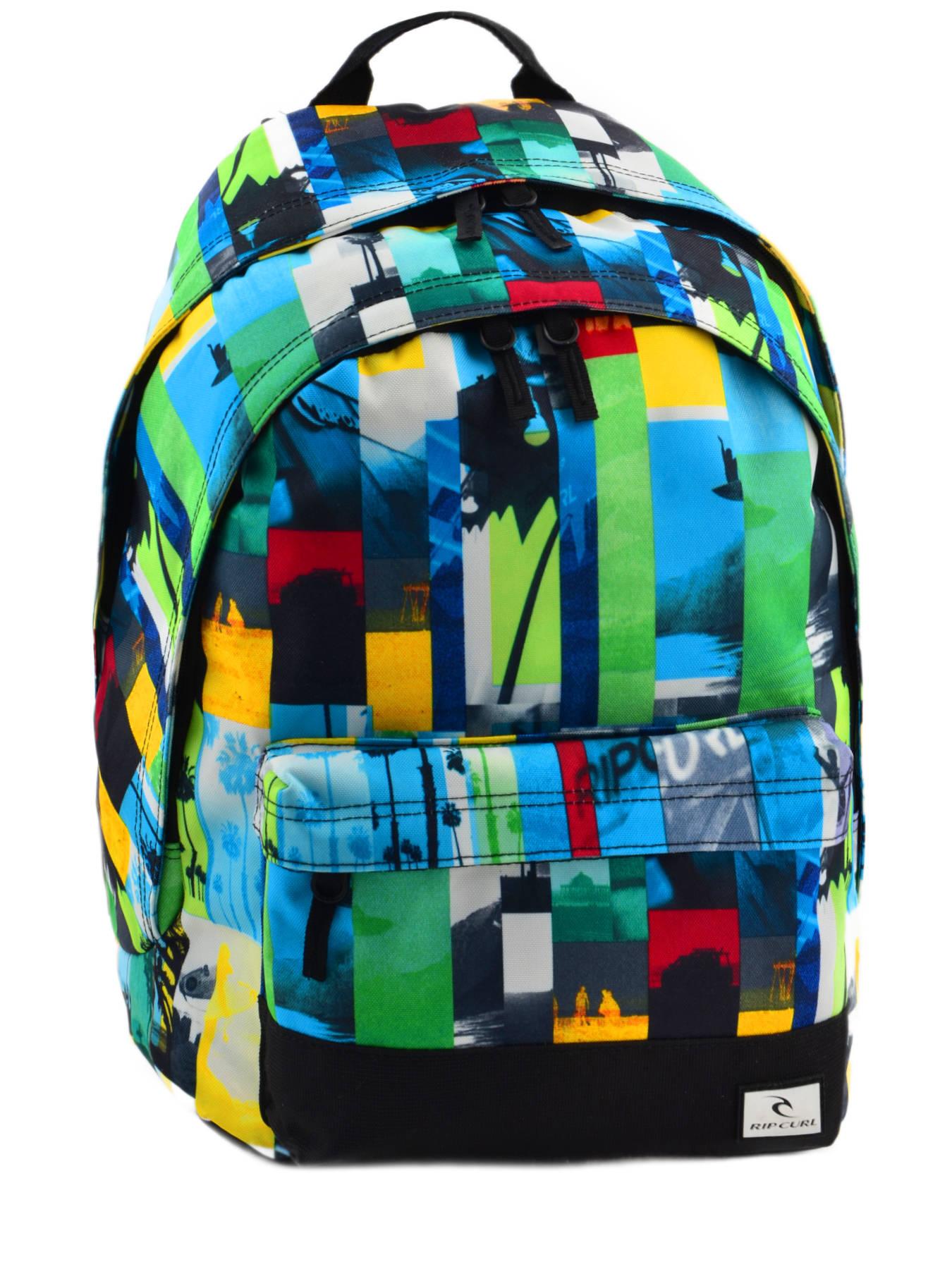 sac dos rip curl photo vibes multicolor i en vente au meilleur prix. Black Bedroom Furniture Sets. Home Design Ideas