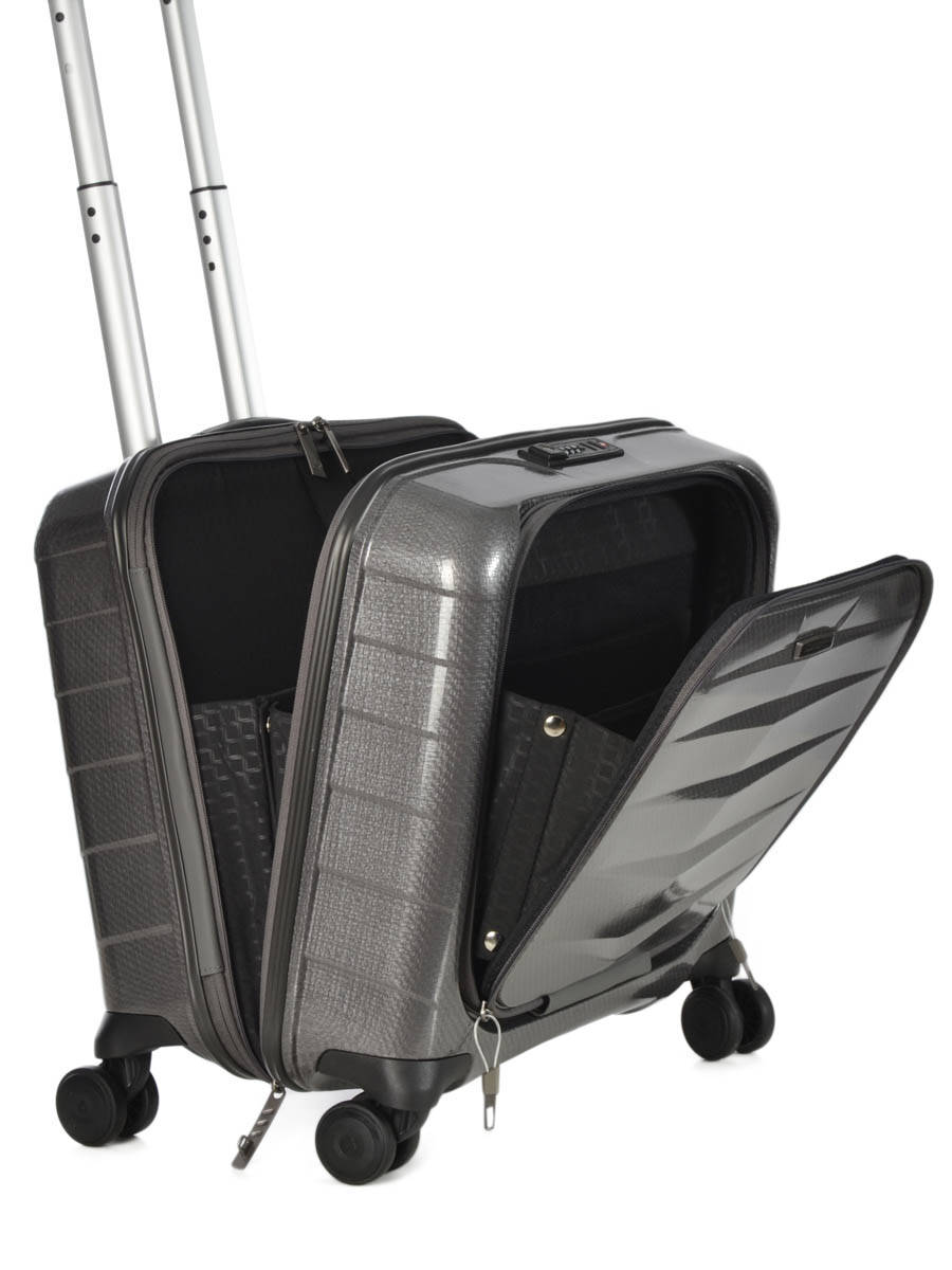 pilot case roulettes samsonite lite biz eclipse grey en vente au meilleur prix. Black Bedroom Furniture Sets. Home Design Ideas