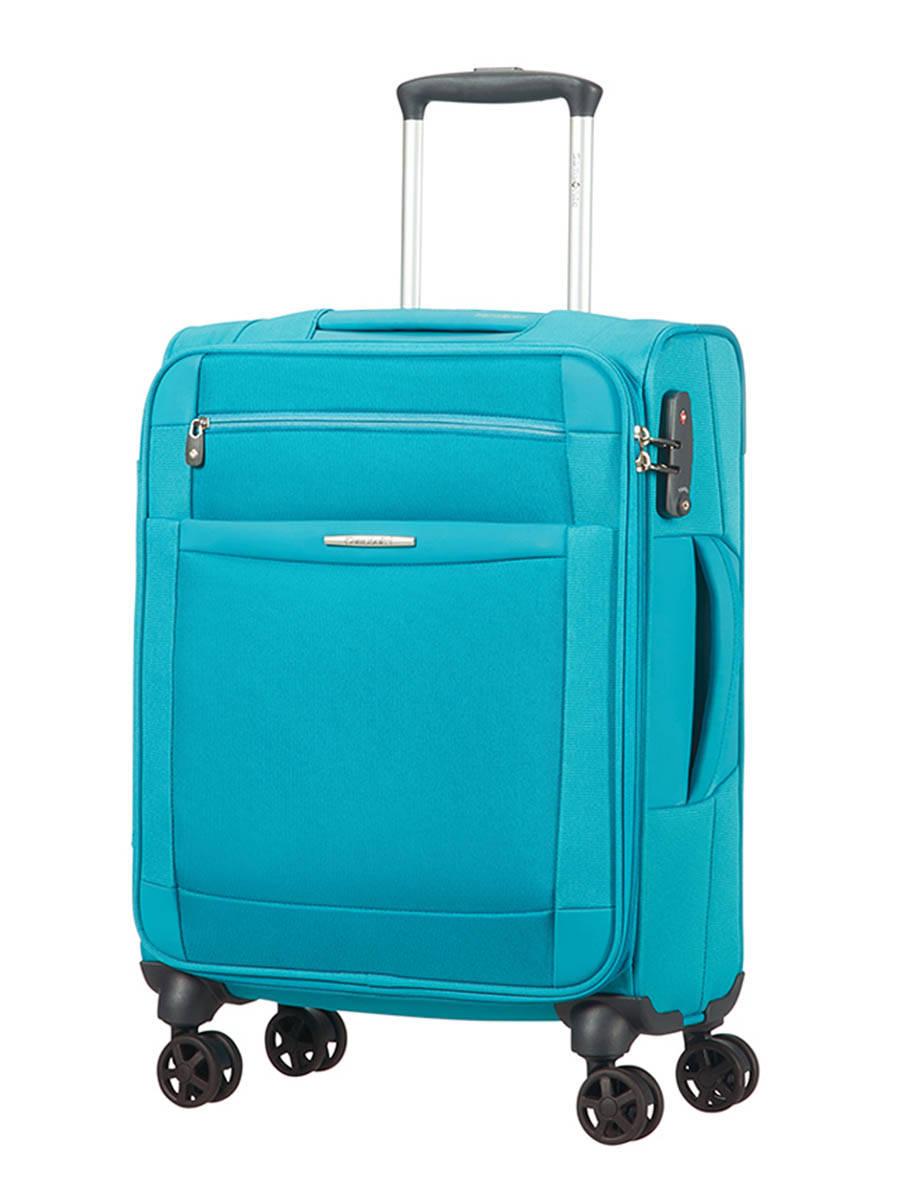 valise cabine samsonite dynamo deep blue en vente au meilleur prix. Black Bedroom Furniture Sets. Home Design Ideas