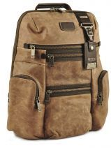 Backpack Tumi Brown alpha 2 leather DH92681