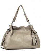 Shopper  Leather Milano Gray 183