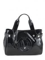 Mini-sac Vernice Lucida Verni Armani jeans Noir vernice lucida 5235-55