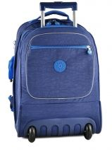 Sac A Dos A Roulettes 2 Compartiments Kipling Bleu back to school 15359