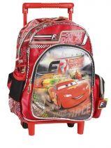 Sac A Dos A Roulettes 1 Compartiment Cars Rouge formula racers 22216C
