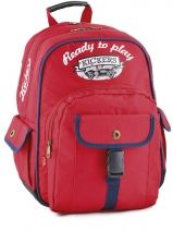 Sac A Dos 2 Compartiments Kickers Rouge kids garcon 402260