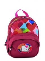 Sac A Dos 1 Compartiment Hello kitty Rose free bag's HPS22075