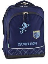 Sac A Dos 2 Compartiments Cameleon Bleu basic boy 14G-BOR