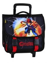 Cartable A Roulettes 3 Compartiments Thundercats Noir cosmo 905513