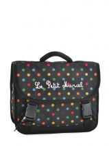 Cartable 1 Compartiment Little marcel le petit marcel RAISIN