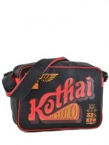Shoulder Bag Kothai Black reporter RU3