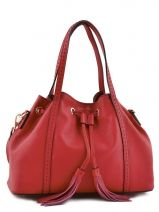 Sac � Main Tradition Cuir Etrier Rouge tradition EHER001