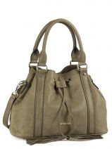 Sac � Main Beverly Light Gold Cuir Etrier Vert beverly light gold EBLG004