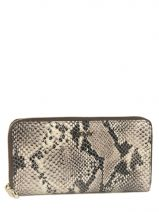 Portefeuille Cuir Dkny Multicolore printed python R3427101