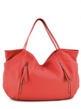 Shopping/cabas Crazy Cuir Woomen Rouge crazy WVCR004