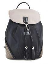 Backpack Lancaster Black basic pompom 514-42