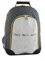 Sac A Dos 2 Compartiments Karl marc john Gris star 738936