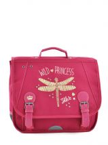 Cartable 1 Compartiment Ikks Rose dragon fly 4DFCA35