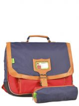 Cartable 2 Compartiments + Trousse Assortie Tann's kid classic 4CLCA38