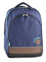 Backpack Cameleon Blue basic boy 15G-BOR