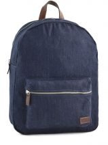 "Sac A Dos 15.6"" + Ipad Levi's Bleu solid canvas 223271-6"