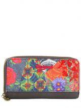 Portefeuille Desigual Multicolore ashbury 57Y53N0