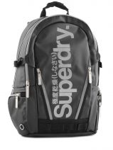Sac A Dos 2 Compartiments Superdry Black backpack M91LD011