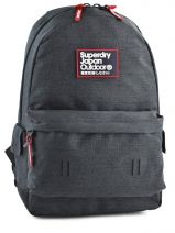 Sac A Dos 1 Compartiment Superdry Gris backpack U91LD016