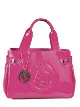 Mini-sac Vernice Lucida Verni Armani jeans Rose vernice lucida 5235-55