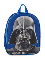 Sac A Dos Mini 1 Compartiment Star wars Blue 3d 570-7127