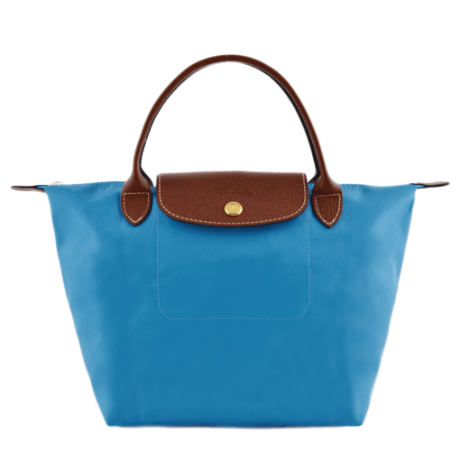 Longchamp Le pliage Sac port� main Bleu
