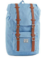 Sac A Dos 1 Compartiment Pc13'' Little America Herschel Bleu classics 10020