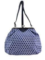 Sac Bandouliere Porte Travers England Dots Woomen Bleu england dots WEND01