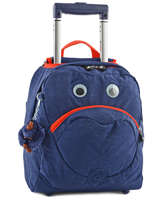 Backpack On Wheels Kipling Blue 15376