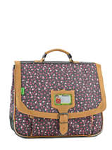 Cartable 2 Compartiments Tann's Gray liberty 5LICA38