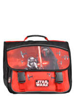 Cartable 3 Compartiments Star wars Black the force awakens STD13027