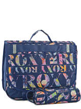 Cartable 2 Compartiments + Trousse Roxy Blue kid LBP03015
