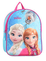 Sac A Dos Frozen Blue 3d 182-7308