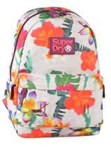Sac A Dos 1 Compartiment Superdry Multicolor backpack M91001NO