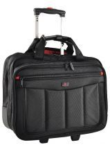 Laptop Bag On Wheels Davidt's Black monte carlo 261344