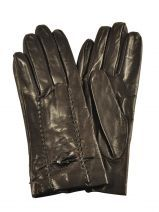 Gloves Omega Brown soie M30