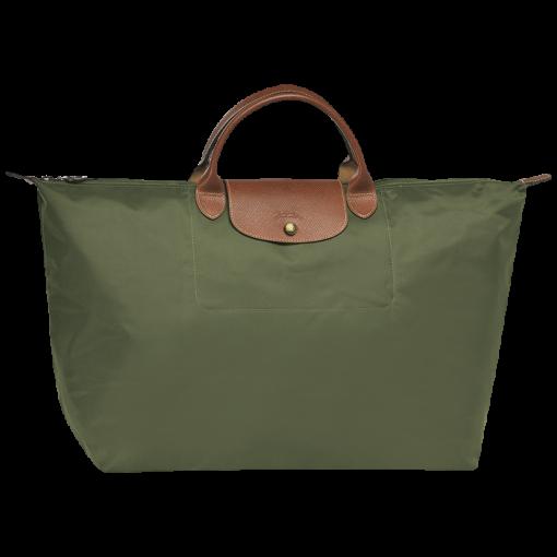 Longchamp Le pliage Sac de voyage Vert
