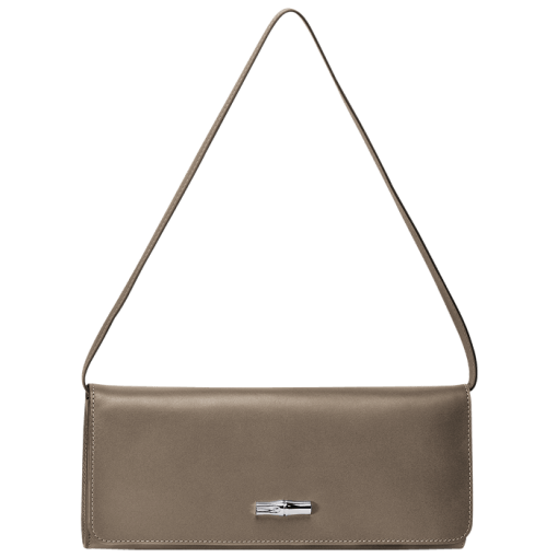 Longchamp Roseau h�ritage Pochette Marron