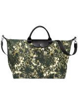 Longchamp Le pliage néo fantaisie Travel bag Green